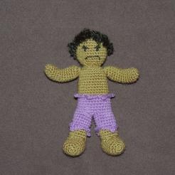 Super Heroes - crochet (42)